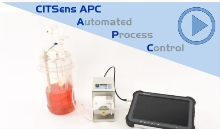 Automated process control based on glucose. Whatch Video