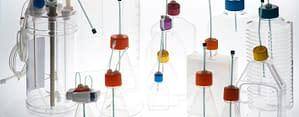 Glucose Sensors in different disposable bioreactors