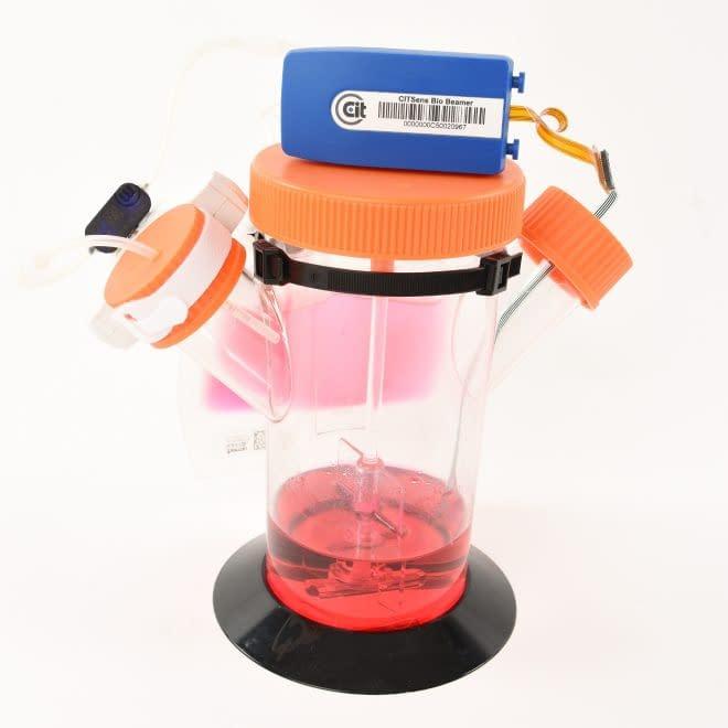 CITSens Bio disposable glucose sensor in spinner flask